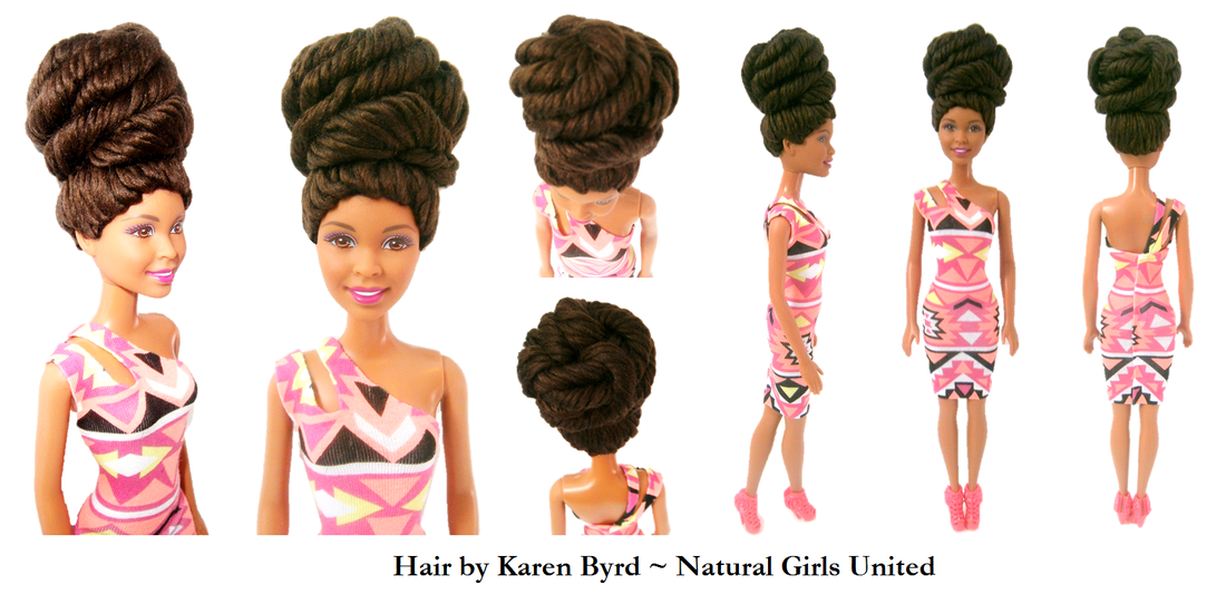 Natural Hair Dolls
